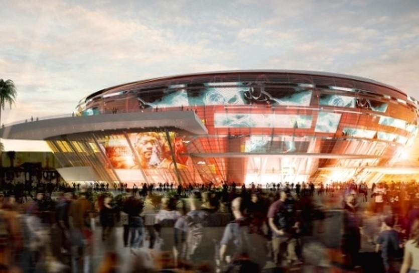 Проект будущей арены в Лас-Вегасе, google.com