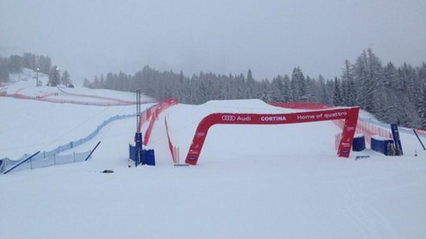 Трасса в Кортина д'Ампеццо, fis-ski.com