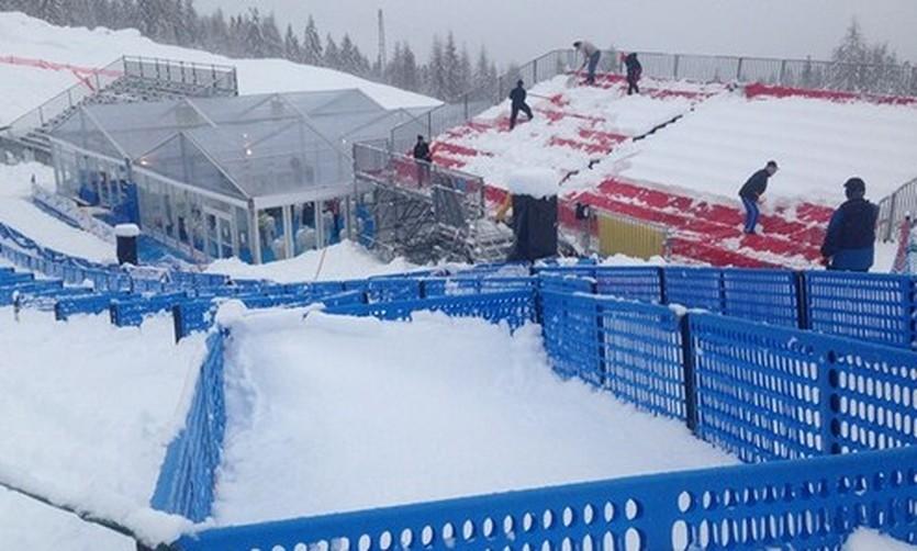Заснеженная Кортина д'Ампеццо, fis-ski.com