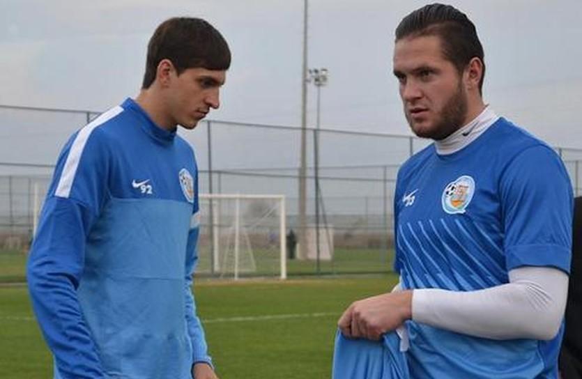 Филипп Будковский (слева) и Константин Махновский (справа), фото ФК Севастополь