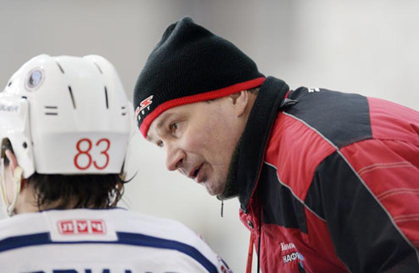 Евгений Алипов, фото ХК Компаньон-Нафтогаз
