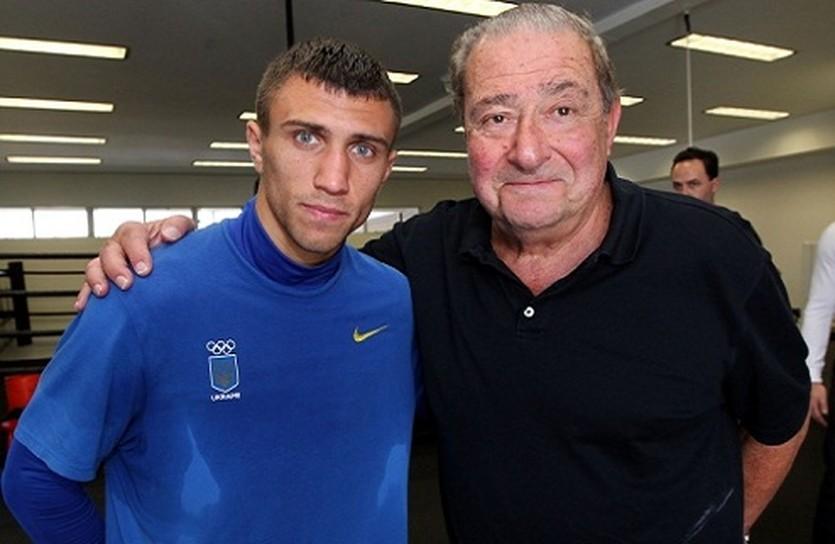 Василий Ломаченко и Боб Арум, boxingscene.com