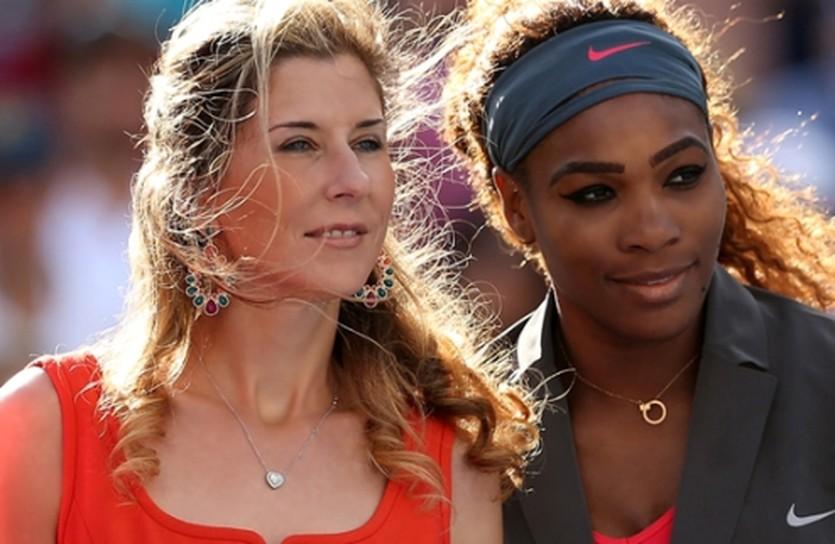 Моника Селеш и Серена Уильямс, Getty Images