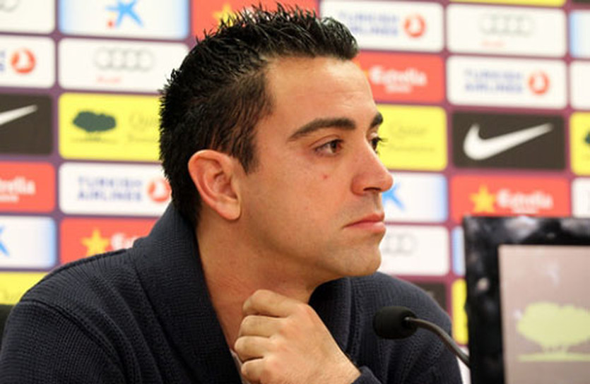 Хави, фото ФК Барселона
