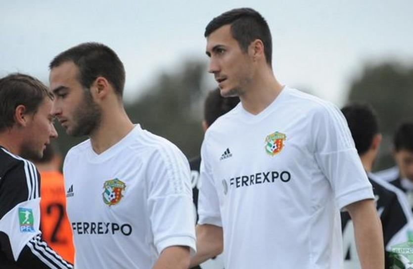 Адис Яхович (справа), фото ФК Ворскла