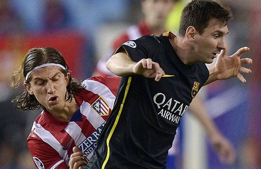 Месси против Атлетико, Getty Images