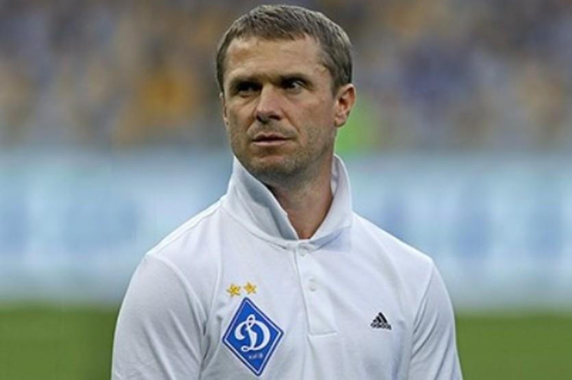 Сергей Ребров, фото ФК Динамо (Киев)