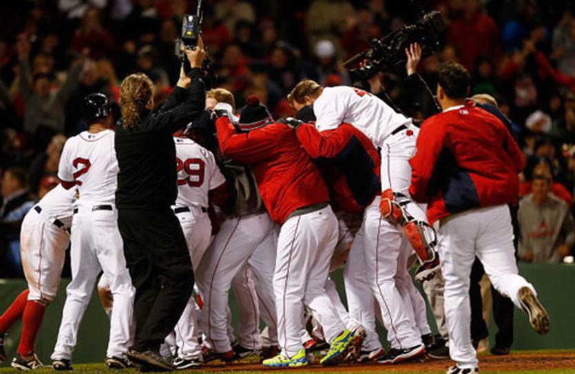 Дастин Педройя вырывает победу для Бостона, Getty Images