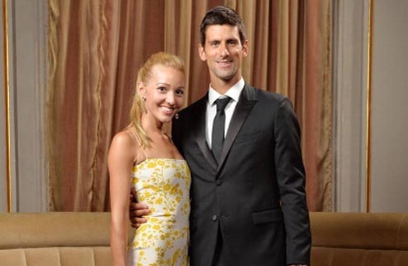 Елена Ристич и Новак Джокович, фото Getty Images