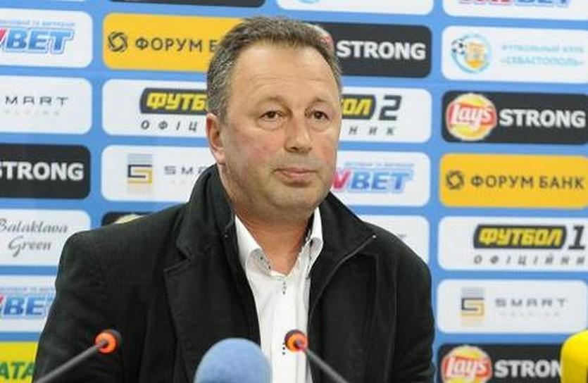 Ангел Червенков, фото ФК Севастополь