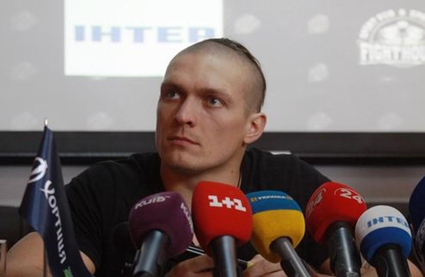 Александр Усик, фото К2 Promotions