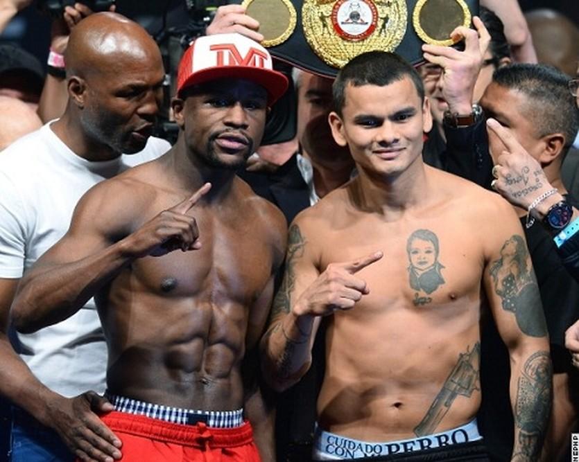 Флойд Мейвезер и Маркос Майдана, boxingscene.com