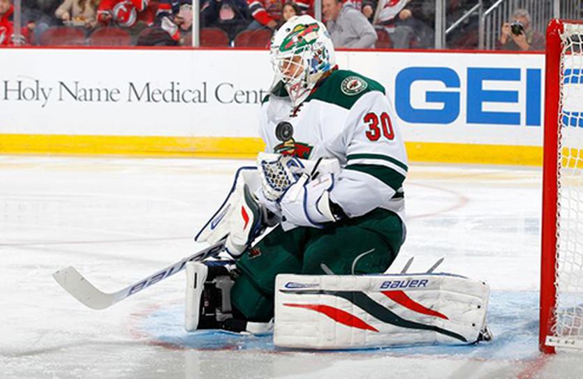 Илья Брызгалов, фото НХЛ