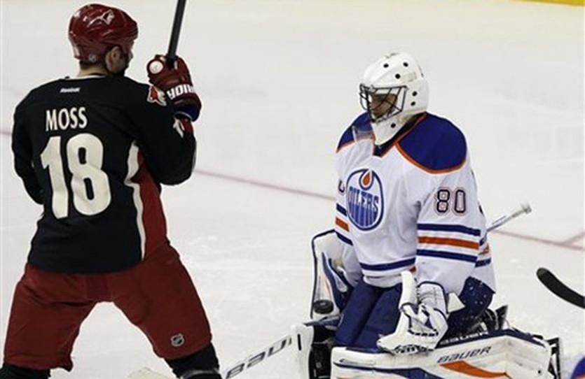 Дэвид Мосс, фото НХЛ