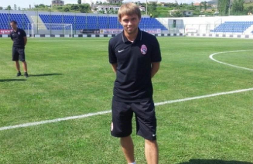 Александр Караваев, фото ФК Заря