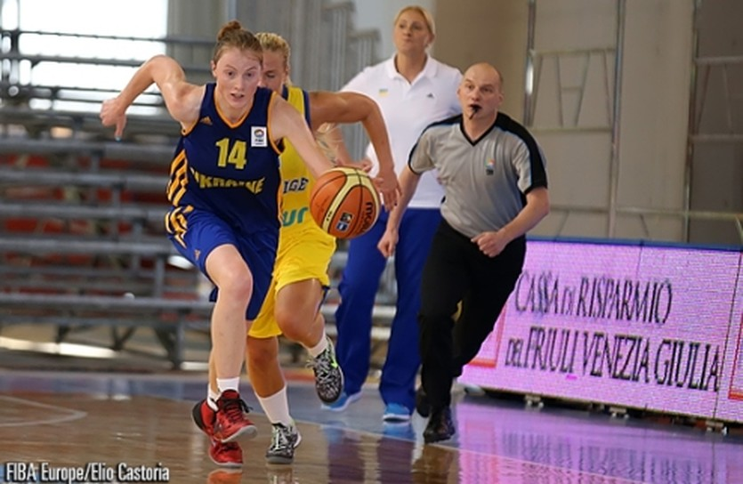 Женский Евробаскет U-18. Украина сохраняет шансы на выход из группы