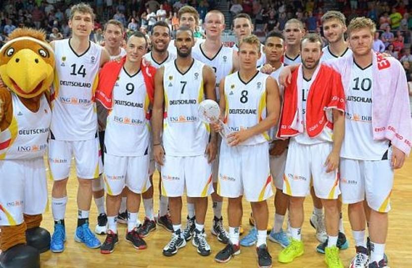Германия взяла победу на домашнем турнире, фото basketball-bund.de