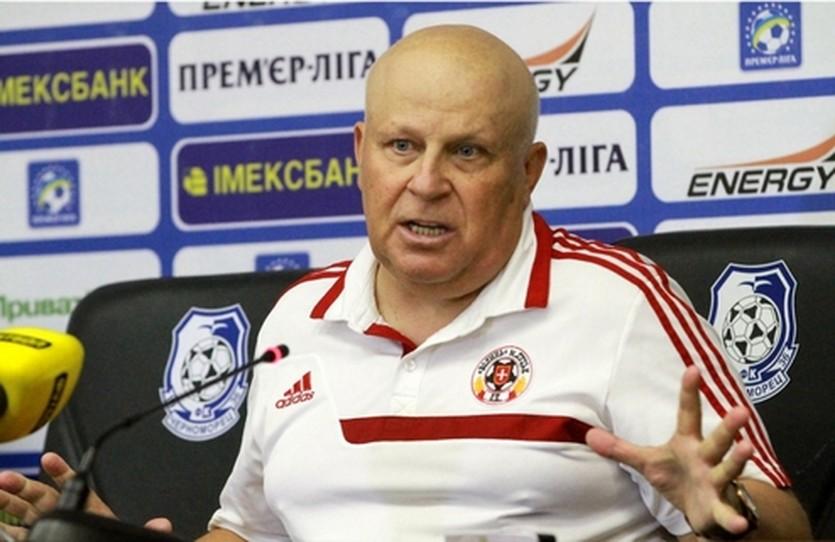 Виталий Кварцяный, фото ФК Черноморец