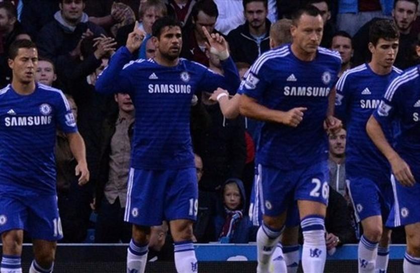 Диего Коста забил в первом официальном матче за Челси, Getty Images