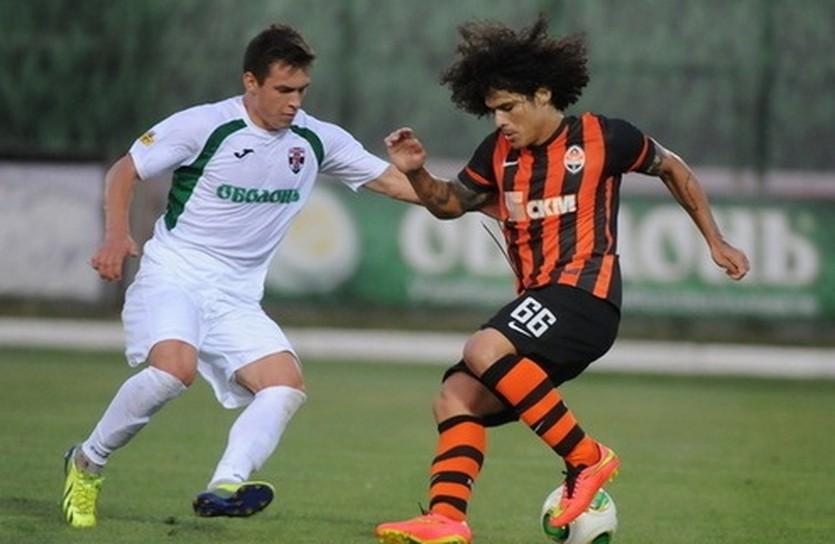 Марсио Азеведо (справа), фото ФК Шахтер