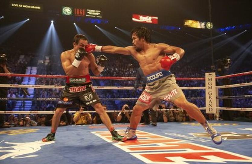 Паккьяо против Маркеса в 2012-м, Getty Images