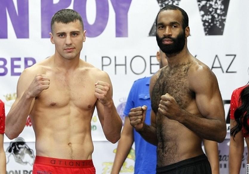 Александр Гвоздик и Ламонт Уильямс, boxingscene.com