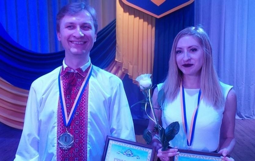 Михаил Олексиенко и Елизавета Малахова