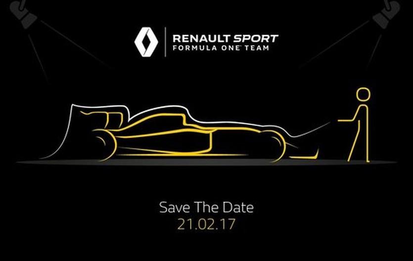 Формула-1. Рено назвала дату презентации новой машины