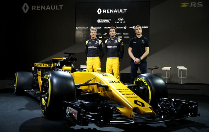 Технические характеристики новой Renault R.S.17
