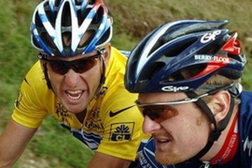 Армстронг и Лэндис, AFP