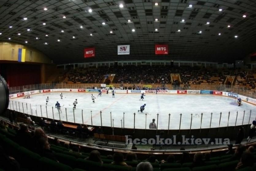 Киевский Дворец Спорта, фото ХК Сокол
