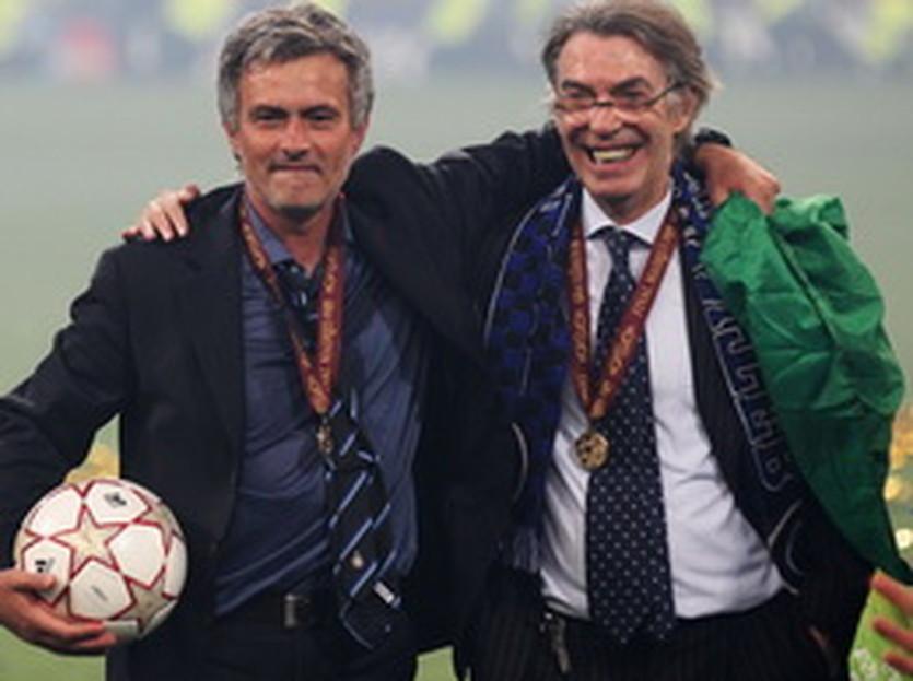 Моуриньо и Моратти, AP