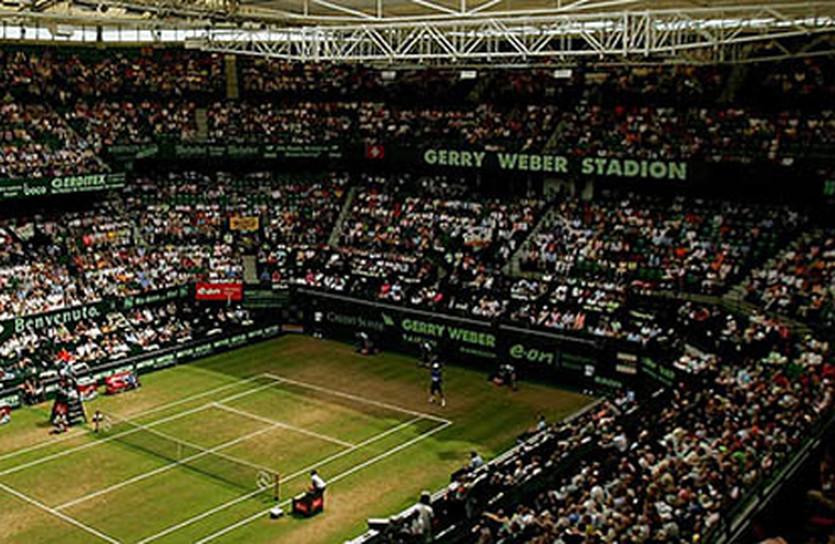 Теннисный стадион в Галле, фото atpworldtour.com