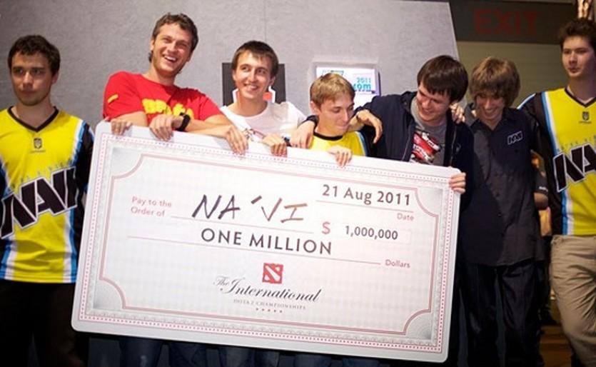 Natus Vincere - победители The International 2011