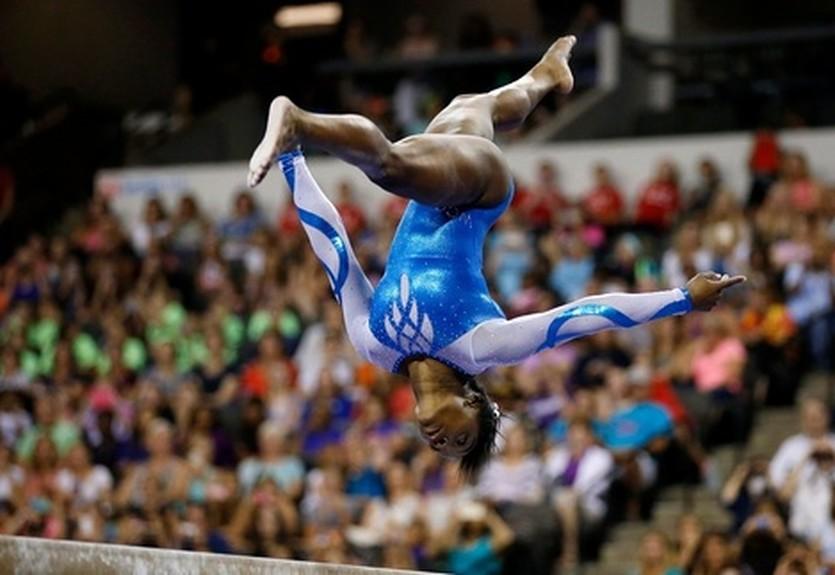 Симона Байлз - лучшая спортсменка года
