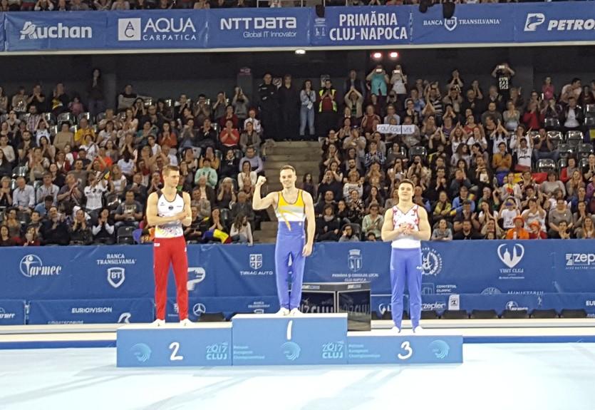 Верняев выиграл золото и бронзу в последний день чемпионата Европы