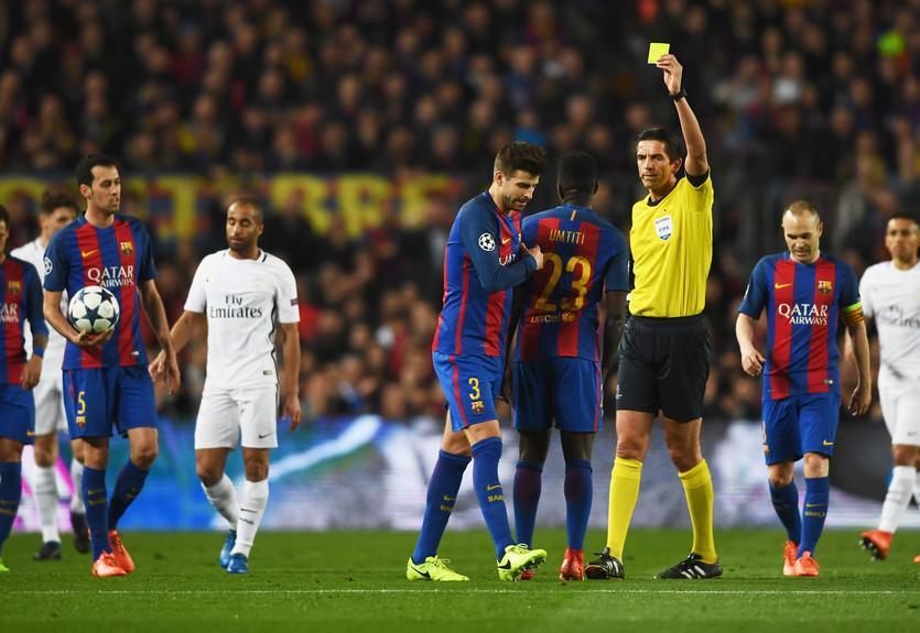 УЕФА не накажет арбитра матча Барселона - ПСЖ