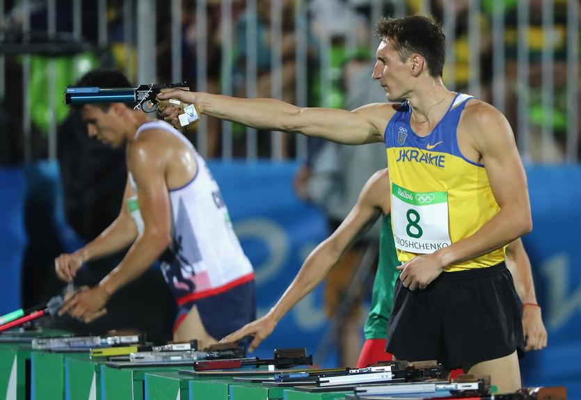 Украинец Тимощенко выиграл этап Кубка мира по современному пятиборью