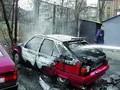 Ночные поджоги автомобилей в Киеве продолжаются