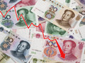 Курс юаня упал до шестилетнего минимума