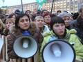 На Донбасе все чаще митингуют