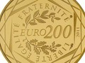 В Европе выпустили монету номиналом 200 евро