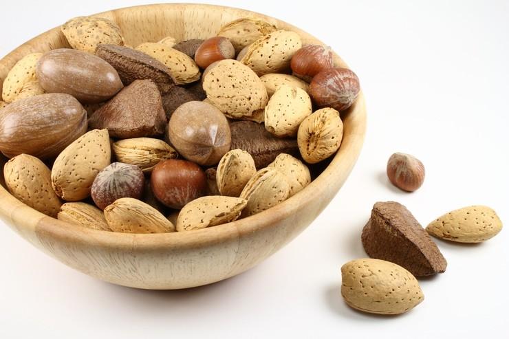 ТОП-5 питательных блюд с орехами