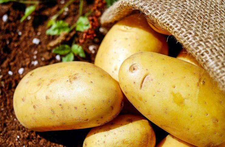 Избавит от отечности - Картофель