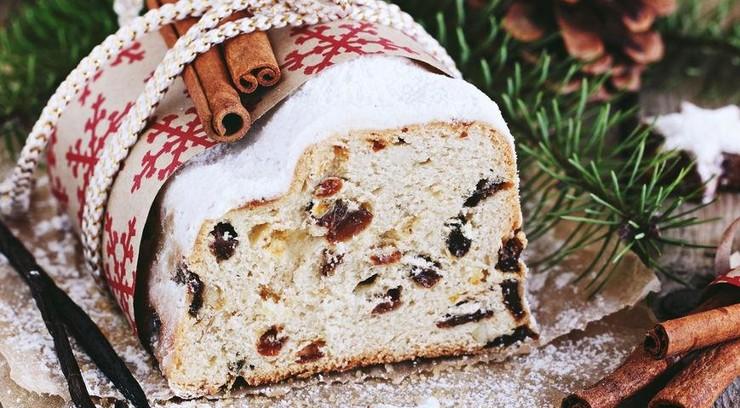 ТОП-3 рецептов рождественского кекса