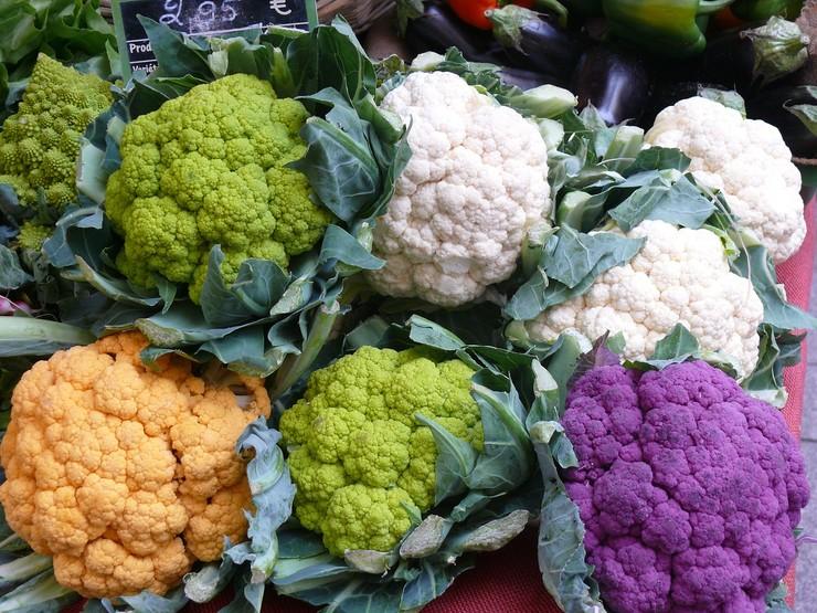 ТОП-10 необычно окрашенных овощей