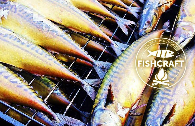 Лише риба, дим та сіль – Original Hot Smoked Fishcraft